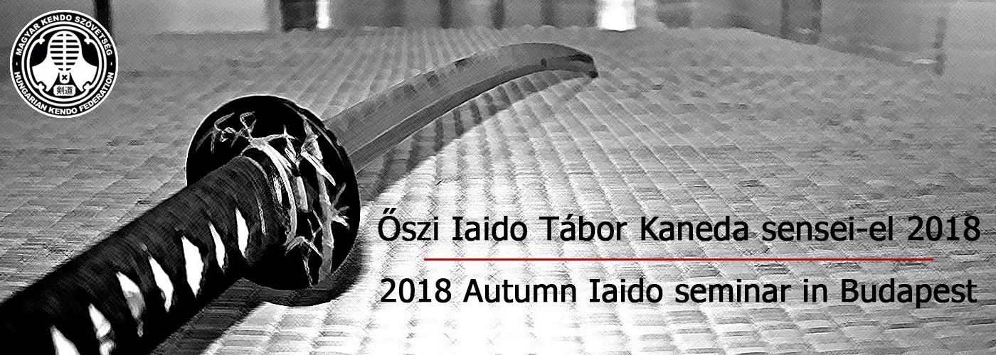 Iaido őszi szeminár